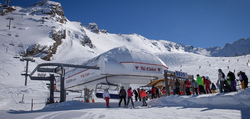 I had a similar, real life (a little too real life) encounter with our example in Val d'isere
